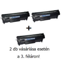 Utángyártott 2+1db féláron Akció Canon CRG 703 (Q2612A) - 2.000 oldal