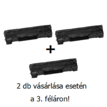 Utángyártott 2+1db féláron Akció Canon CRG 728 - 2.100 oldal