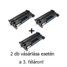 Utángyártott 2+1db féláron Akció HP 26A (CF226A) - 3.100 oldal