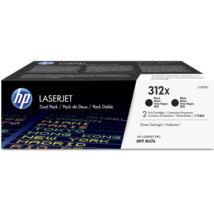Eredeti HP 312X fekete (CF380XD) - 2 x 4.400 oldal