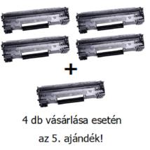 Utángyártott 4+1db AKCIÓ Canon CRG 725 - 1.600 oldal
