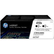 Eredeti HP 410X fekete (CF410XD) - 2 x 6.500 oldal