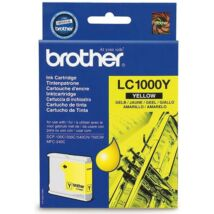 Eredeti Brother LC 1000 sárga - 400 oldal