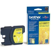 Eredeti Brother LC 1100 HY sárga - 750 oldal