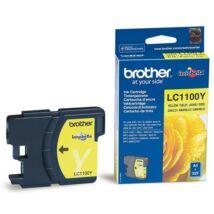 Eredeti Brother LC 1100 sárga - 325 oldal