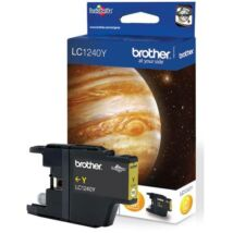 Eredeti Brother LC 1240 yellow - 600 oldal