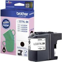 Eredeti Brother LC 227XL fekete - 1.200 oldal