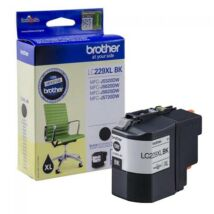 Eredeti Brother LC 229XL fekete - 2.400 oldal