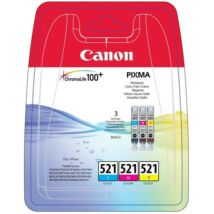 Eredeti Canon CLI-521 Multipack (C+M+Y)