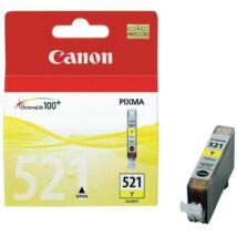 Eredeti Canon CLI-521 Yellow