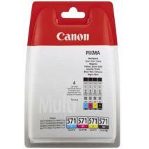 Eredeti Canon CLI-571 Multipack (BK+C+M+Y)