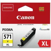 Eredeti Canon CLI-571XL sárga - 10,8 ml - 0334C001