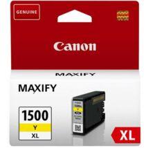 Eredeti Canon PGI-1500XL yellow - 9195B001 - 12ml (935 oldal)