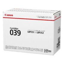 Eredeti Canon CRG 039 - 11.000 oldal