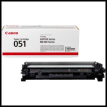 Eredeti Canon CRG 051 fekete - 1700 oldal