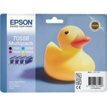 Eredeti Epson T0556 - Multipack (BK+C+M+Y)