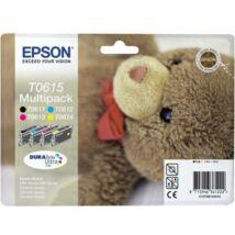 Eredeti Epson T0615 Multipack (BK+C+M+Y)