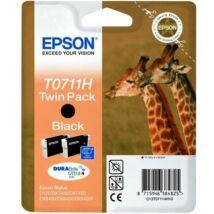 Eredeti Epson T0711H fekete (2 x 11,1 ml)