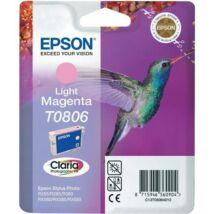 Eredeti Epson T0806 Light Magenta