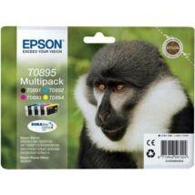 Eredeti Epson T0895 Multipack (BK+C+M+Y)