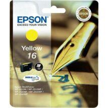 Eredeti Epson T1624 - yellow (3,1ml ~ 165 oldal)