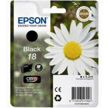 Eredeti Epson T1801 - fekete (5,2 ml ~ 175 oldal)