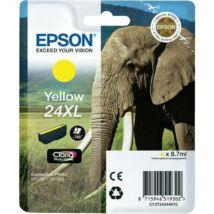 Eredeti Epson T2434 - yellow (8,7ml ~ 740 oldal)