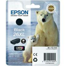 Eredeti Epson T2621 - fekete (12,1ml ~ 500 oldal)