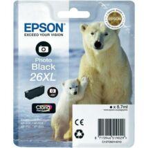 Eredeti Epson T2631 - Photo fekete (8,9ml ~ 400 oldal)