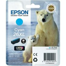 Eredeti Epson T2632 - cyan (9,7ml ~ 700 oldal)