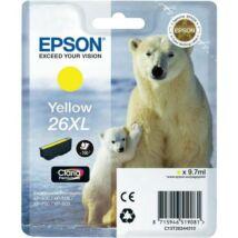 Eredeti Epson T2634 - yellow (9,7ml ~ 700 oldal)