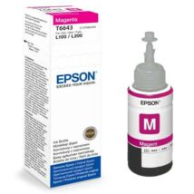 Eredeti Epson T6643 magenta - 70ml - 6.500 oldal