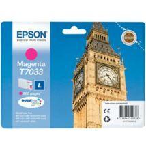 Eredeti Epson T7033 magenta - 800 oldal