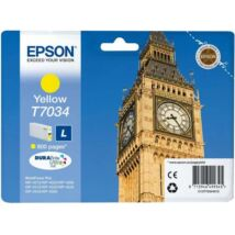 Eredeti Epson T7034 yellow - 800 oldal