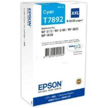 Eredeti Epson T7892 cyan - 34,2ml ~ 4.000 oldal