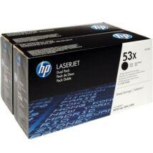 Eredeti HP 53X DUPLA (Q7553XD) - 2 x 7.000 oldal
