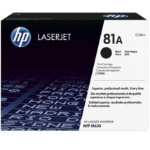 Eredeti HP 81A (CF281A) - 10.500 oldal