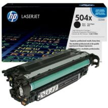 Eredeti HP CE250X fekete - 10.500 oldal