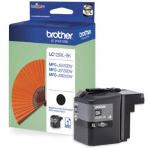 Eredeti Brother LC 129XL fekete ~ 2.400 oldal