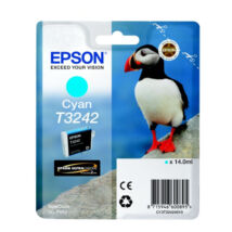 Eredeti Epson T3242 cyan -  (14ml ~ 980 oldal)