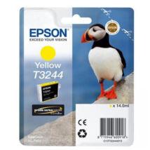 Eredeti Epson T3244 yellow - (14ml ~ 980 oldal)