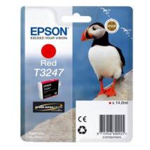 Eredeti Epson T3247 red - (14ml ~ 980 oldal)
