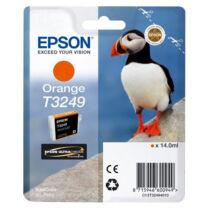 Eredeti Epson T3249 narancs - (14ml ~ 980 oldal)