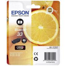 Eredeti Epson T3341 Photo fekete - 4,5ml (~200 fotó)
