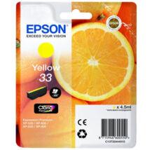 Eredeti Epson T3344 sárga - 300 oldal