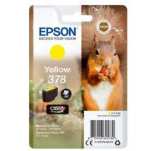 Eredeti Epson T3784 - yellow (5,5ml ~ 360 oldal)