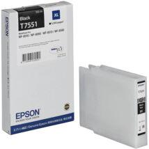 Eredeti Epson T7551 fekete - 100ml ~5.000 oldal