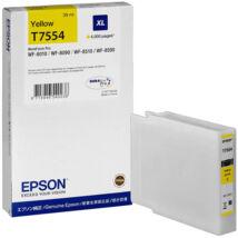 Eredeti Epson T7554 sárga - 39ml ~4.000 oldal