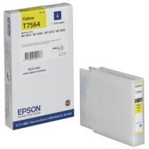 Eredeti Epson T7564 sárga - 14ml ~1.500 oldal