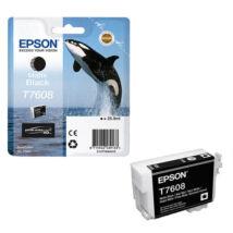 Eredeti Epson T7608 - matt fekete (26ml)